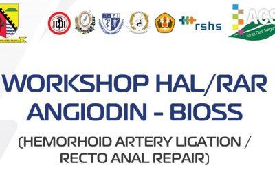 Acute Care Surgery – ANGIDOIN Workshop (HAL/RAR Method)